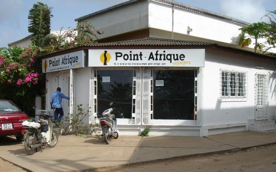 L'agence Point-Afrique Bénin à Cotonou