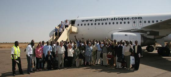 Vol affrété par Point-Afrique Voyages (vue 2)