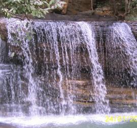 La cascade de TanongouThe Tanongou waterfall